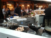 Oysters, Scallops and Prosecco - that's my kind of market