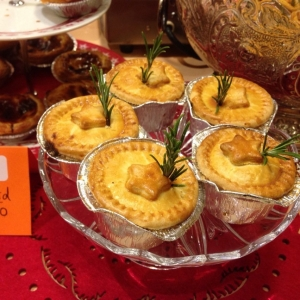Savoury mince pies at Blackthorpe Barn